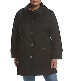 London Fog® Plus Size A Line Walker