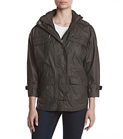 MICHAEL Michael Kors® Snap Front Hooded Jacket
