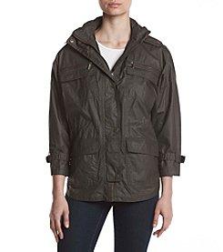 MICHAEL Michael Kors® Snap Front Hooded Jacket