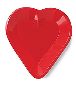 Casino Card Party Plastic Heart Tray
