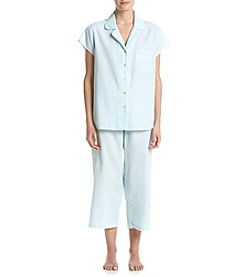 Miss Elaine® Stripe Pajama Set