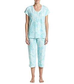Miss Elaine® Paisley Pajama Set