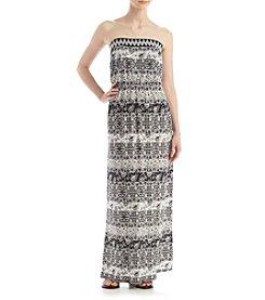 Trixxi® Geo Maxi Dress