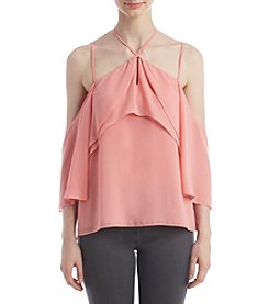 XOXO® Off-Shoulder Ruffle Top