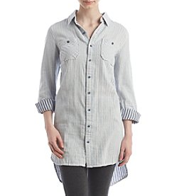 Hippie Laundry Striped Tunic Blouse