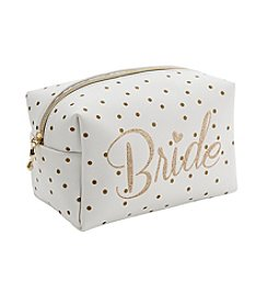 Tricoastal Dot Bride Cosmetic Bag