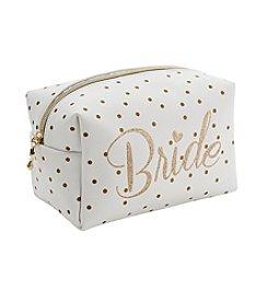 Tricoastal Dot Bride Cosmetic Bag
