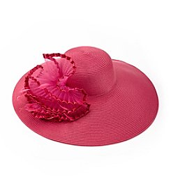 August Hats Hibiscus Widebrim Hat