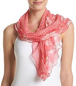 Lauren Ralph Lauren® Cara Floral Dot Wrap