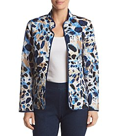Alfred Dunner® Animal Quilt Jacket