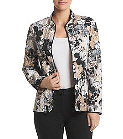 Alfred Dunner® Floral Quilt Jacket