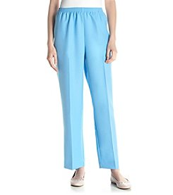 Alfred Dunner® Proportioned Pull On Pants