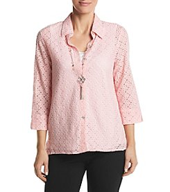 Alfred Dunner® Layered Look Lace Top