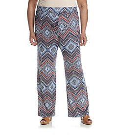 Studio Works® Plus Size Print Knit Pull On Pants