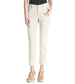 Ruff Hewn Frayed Hem Ankle Jeans