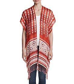 Ruff Hewn Jacquard Kimono