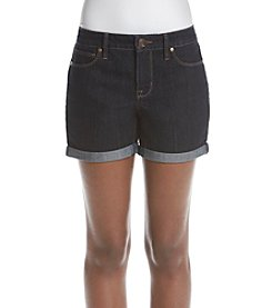 Relativity® Rolled Cuff Denim Shorts