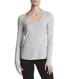 Marc New York Performance Striped Open Back Top