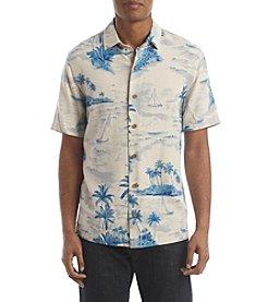 Paradise Collection® Men's Short Sleeve Silk Sailaway Shirt