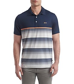 Le Tigre Men's Stripe Performance Polo