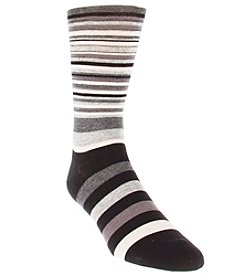Cole Haan® Men's Twin Stripe Dress Socks