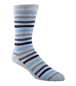 Cole Haan® Men's Stripe Crew Dress Socks