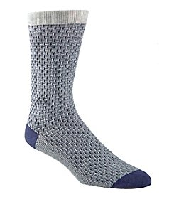 Cole Haan® Men's Dogbone Texture Dress Socks