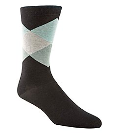 Cole Haan Men's Diamond Crew Dress Socks