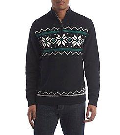 Chaps® Men's Zip Mockneck Sweater