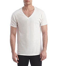 Hanes® Men's Blue Label 4-Pack V-Neck Tee