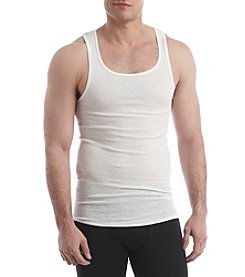 Hanes® Men's Blue Label 4-Pack Solid Tank Tops