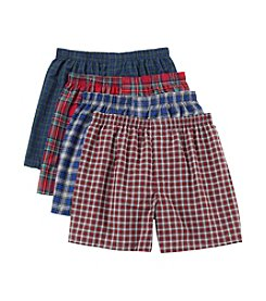 Hanes® Men's Blue Label Tartan Boxers