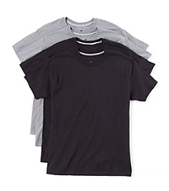 Hanes® Men's Blue Label Comfort 4-Pack Crew Neck Tee