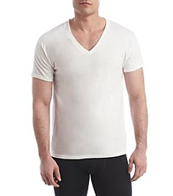 Hanes® Men's Blue Label Comfort V-Neck Tee