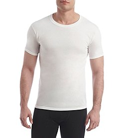 Hanes® Men's Blue Label Slim 4-Pack Crew Neck Undershirts
