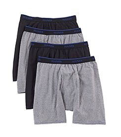 Hanes® Men's Blue Label Comfort Boxer Briefs