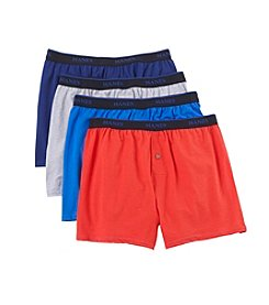 Hanes® Men's Blue Label Comfort Knit Boxers