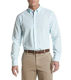 Nautica® Men's Long Sleeve Gingham Button Down Shirt