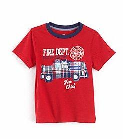 Mixology Boys' 2T-7 Fire Truck Graphic Tee