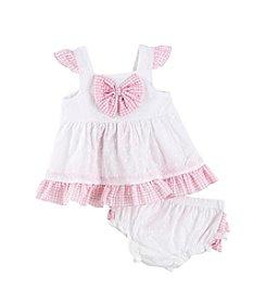 Cuddle Bear® Baby Girls' Eyelet Dress Set