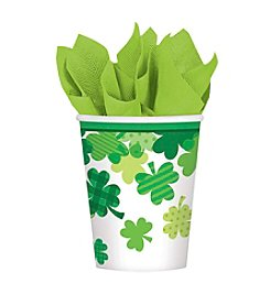 St. Patrick's Day Blooming Shamrocks 9-oz. Paper Cups