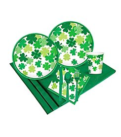 Happy St. Patrick's Day Blooming Shamrocks Party Pack
