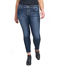 Silver Jeans Co. Plus Size Mazy Ankle Skinny Jeans