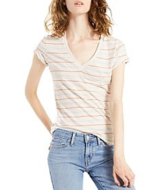 Levi's® Stripe Slim V-Neck Tee