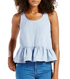 Levi's® Peplum Top