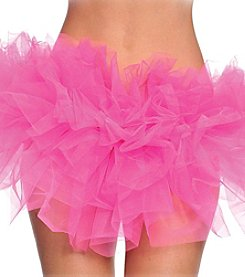 Hot Pink Organza Tutu Adult Costume