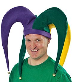 Mardi Gras Giant Adult Jester Hat