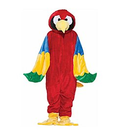 Economy Adult Parrot Plush Mascot Costume