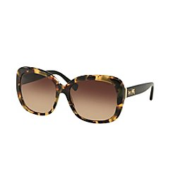 COACH Gradiant Tortoise Shell Sunglasses