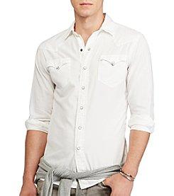 Polo Ralph Lauren® Men's Novelty Solid Oxfords Button Down Shirt